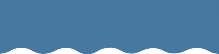 Toiles bleu bleuet pour lambrequin de store à vos mesures