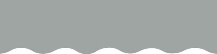 Toiles gris argent pour lambrequin de store à vos mesures