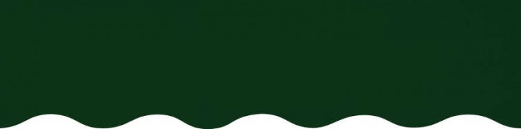 store,toile et lambrequin vert olive personnalisés ( sur mesures)