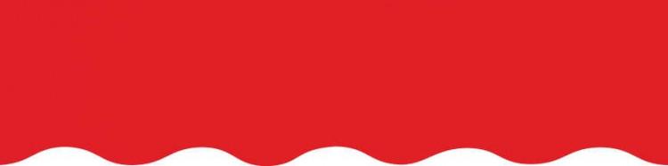Stores toile unie couleur rouge vermillon